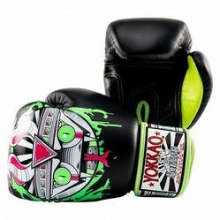 APEX Snake Muay Thai Boxing Gloves black 3