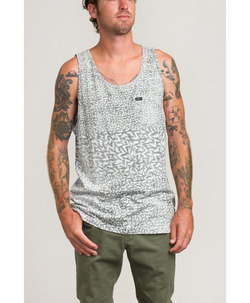 RVCA KNITS LEINES BOLTS TANK TOP 1