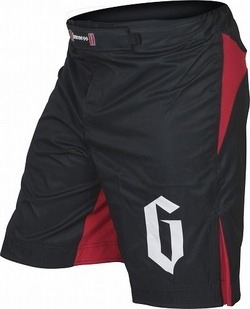 Strike Shorts Black Red 1