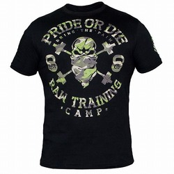 T-Shirt RAW TRAINING CAMP black 1