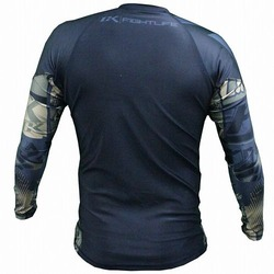 Collage Rashguard Long Camo 2