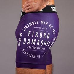 Real Vale Tudo Shorts  Purple 3