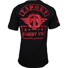 TAPOUT Tシャツ STRONG HOLD 黒
