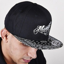 snapback cap AUTHENTIC black 1