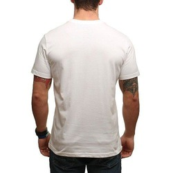 RVCA TROPIC DOOM TEE WHITE 2