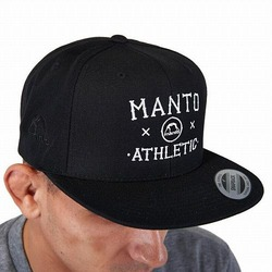 snapback cap ATHLETIC black1