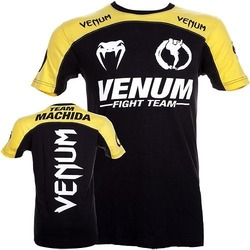 T-shirt Venum Team Machida BK Yellow2