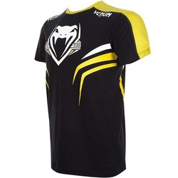 T-shirt Venum Shockwave 2  Bk Yellow3