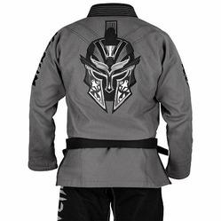 Absolute Gladiator BJJ Gi grey black 2