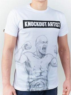 t-shirt KNOCKOUT white 1