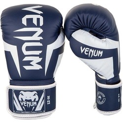 Elite Boxing Gloves WhiteNavy Blue 1