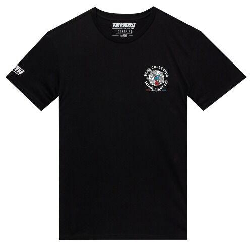 Tatami_T-shirt_BoneCollector_Black_Front-2