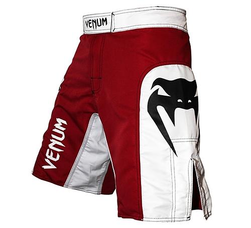 VENUM ファイトショーツ Elite UFC Edition 白/赤