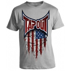 USA FLAG T-SHIRT heather