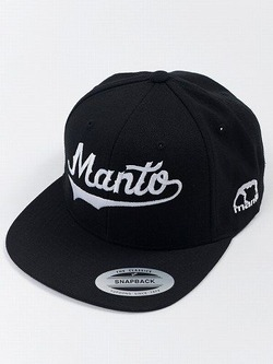 MANTO snapback cap NUMBER ONE black 1