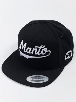 MANTO snapback cap NUMBER ONE black 1