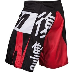 Revenge Fightshorts red  3