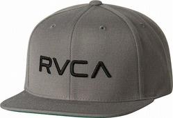 RVCA Twill Snapback III Hat gray1