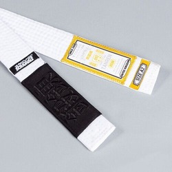 tanren v4 BJJ Belt White 2