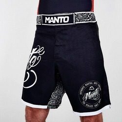 fight shorts AUTHENTIC black 1