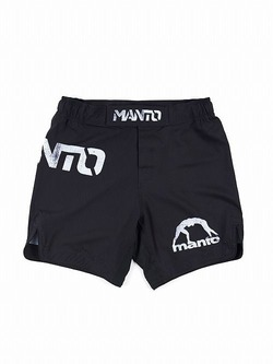 MANTO fight shorts STENCIL black1