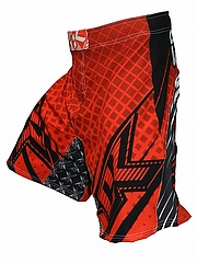 Shorts Grappler Red2