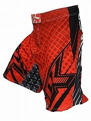 Shorts Grappler Red2