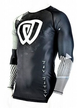 Rash Guard Chaos Ranked White 1