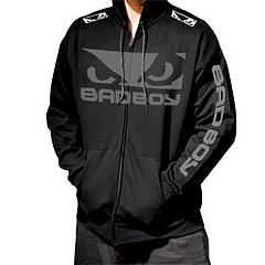 BAD BOY ジップパーカー 入場モデル 黒