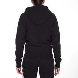 Infinity Hoody with Zip black-white 2