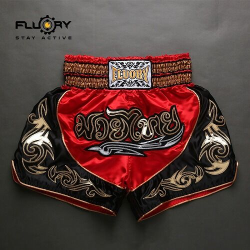 muay thai black red 2