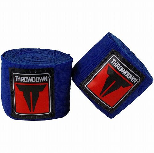 Throwdown MMA Mexican Style Handwraps Blue