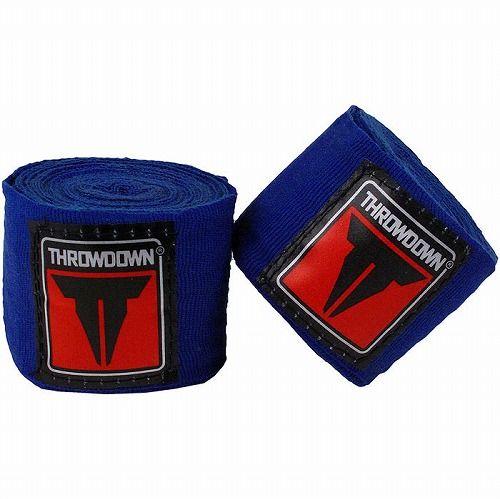 Throwdown MMA Mexican Style Handwraps Blue