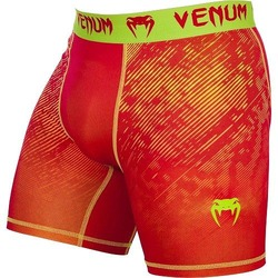 Fusion Compression Shorts orange yellow 1