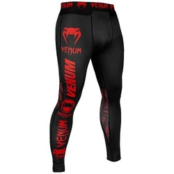 Logos Tights blackred1