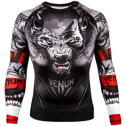 Werewolf Rashguard LS blackwhite 1