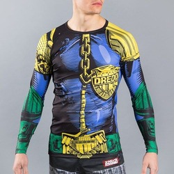 Scramble x Judge Dredd The Law Rashguard2