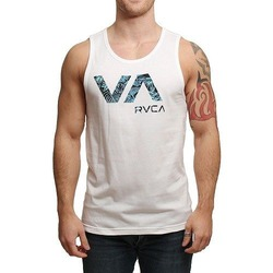 RVCA TROPIC DOOM TANK WHITE 1