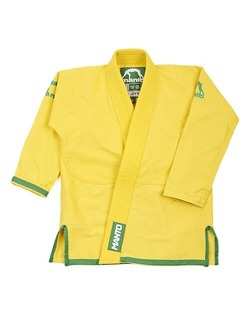 Junior 20 Youth BJJ Gi yellow 1