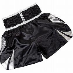 Channah Muay Thai shorts  Black Silver 2