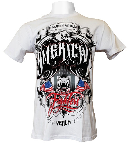 VENUM Tシャツ Amerian Fighters 白