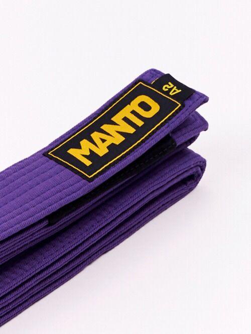belt BJJ LOGOTYPE purple 1