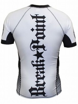 Elite Rash Guard White3