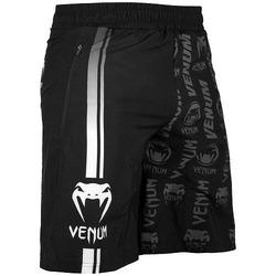 Logos Fitness Shorts black white 1