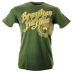 Tee BJJ Champion Green1
