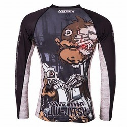 Cyber Thinker Monkey Rash Guard 2