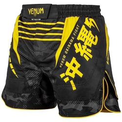 Okinawa 20 Fightshorts blackyellow1