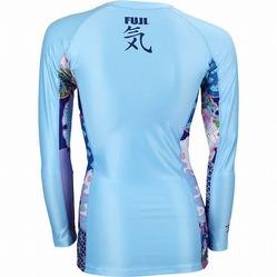 Fuji Women's Kimono Rashguard Blue2