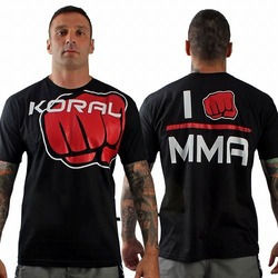 Tee I am MMA BK Red