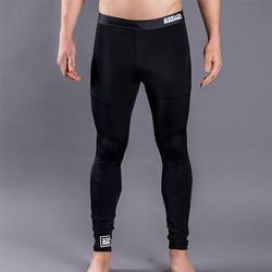 All Black Grappling Spats 1